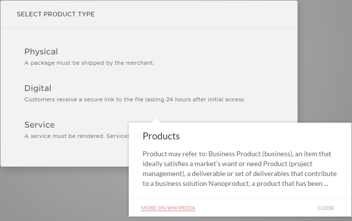 All Squarespace Templates allow to Add any Products