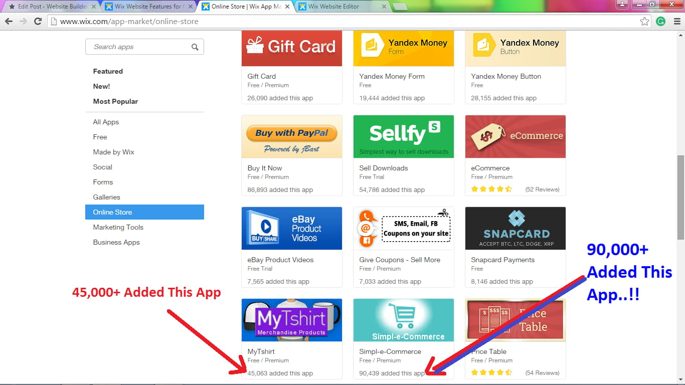 Wix eCommerce Apps are popular & added millions of people for their online store.