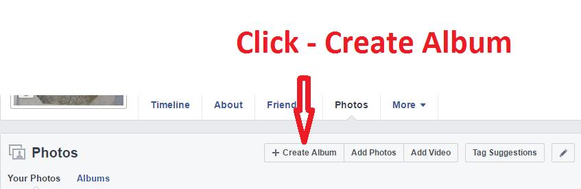 Create a New Album