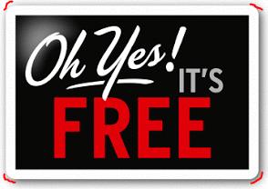 It is Free service