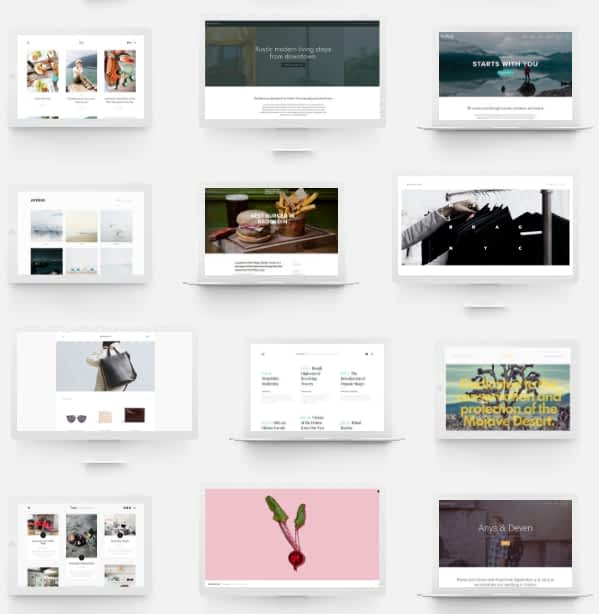Squarespace templates look is stunning with retina ready