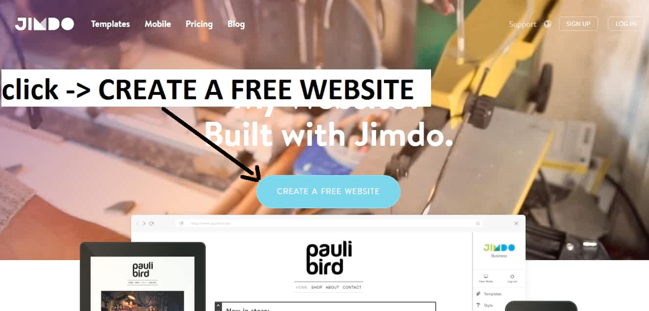 How To Build A Website On Jimdo? | 3 Easy Steps