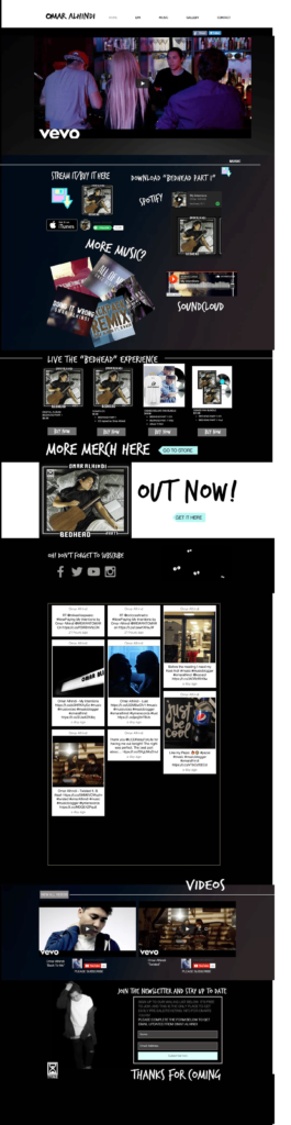 Musician Omar Alhindi music website is one of the best site.