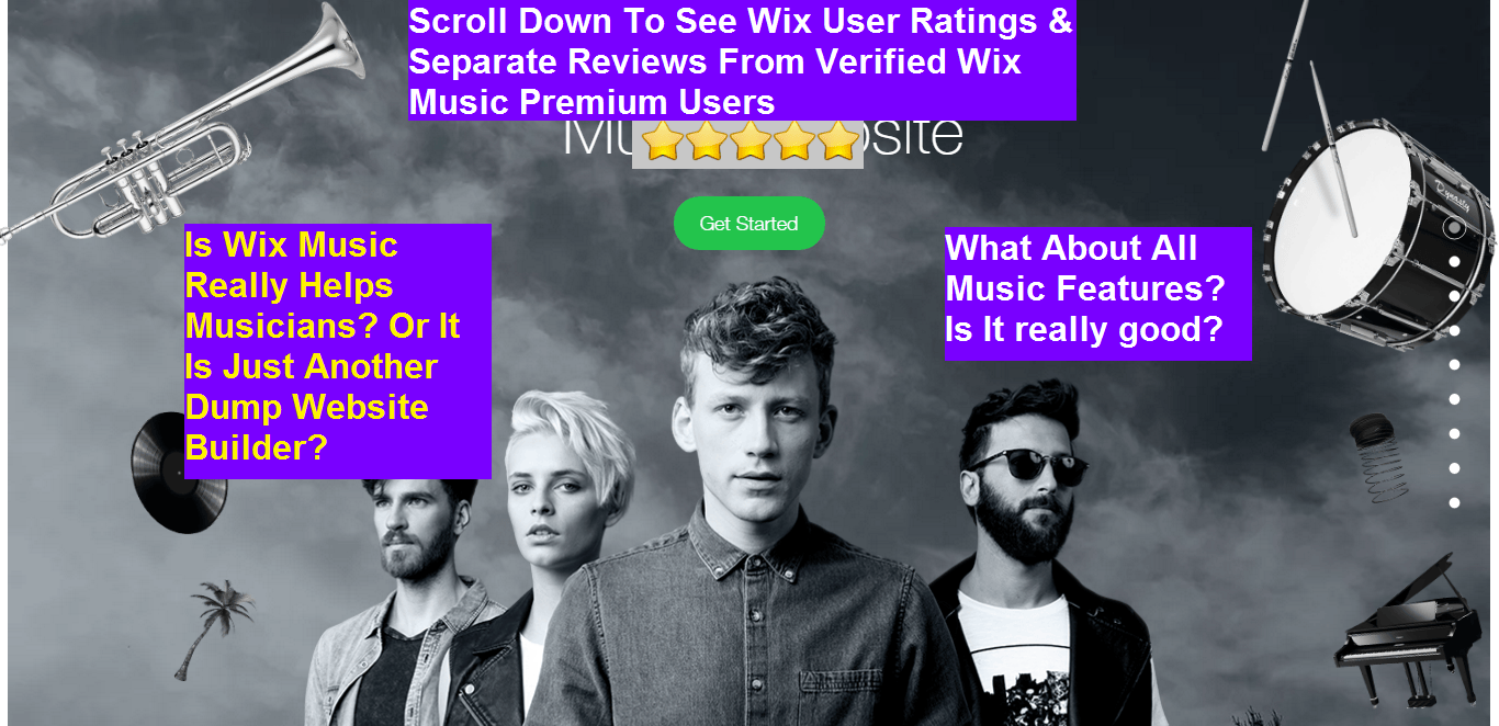 Wix Music Review 2020 - Do Musicians & Bands Really Love It? 7 Pros & Cons
