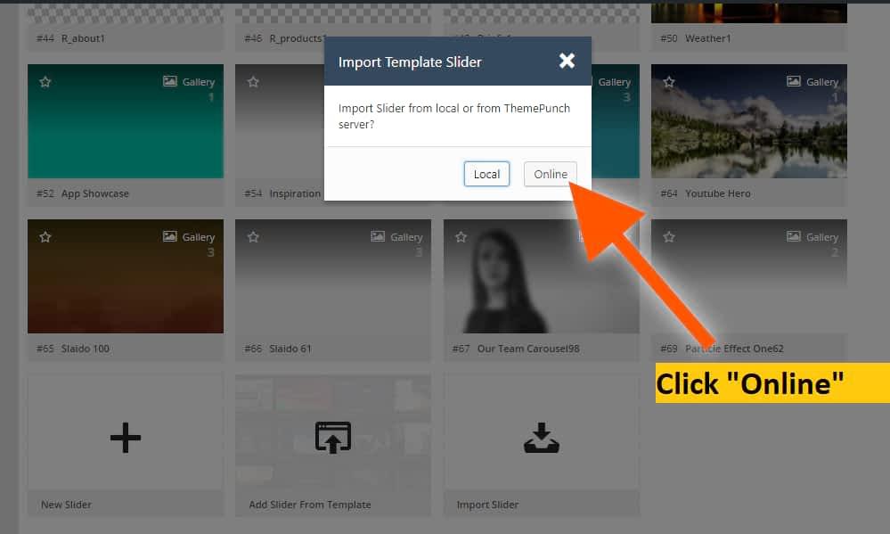 click online