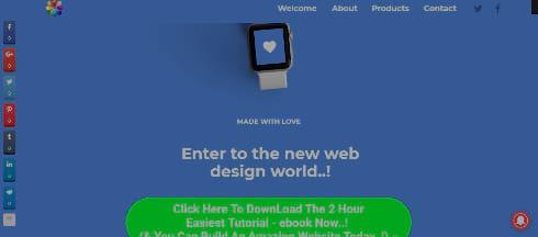 Best Website Designs 5 - Minimal Web Design Example
