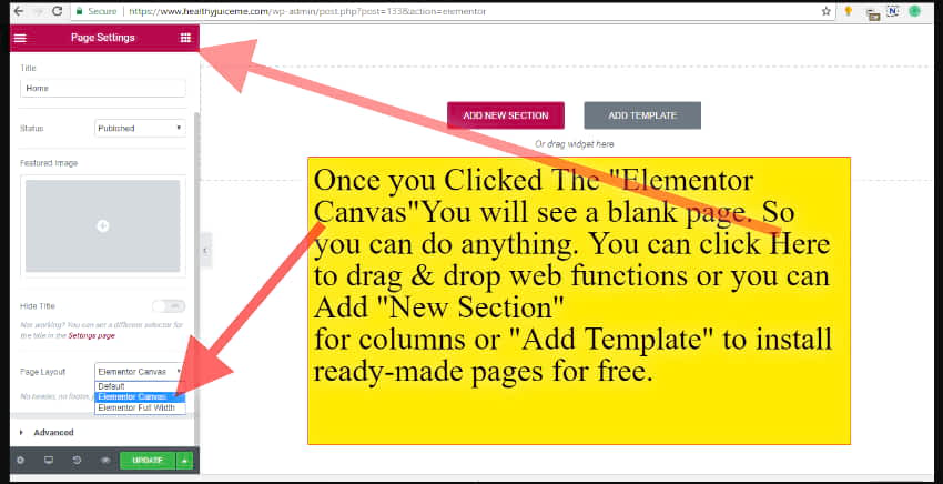 start building your website using site builder wordpress plugin