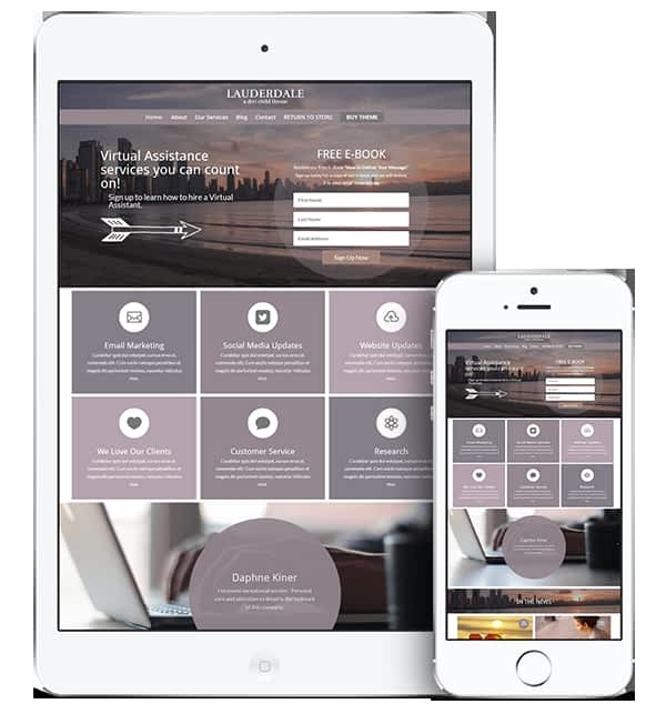 responsive business website examples