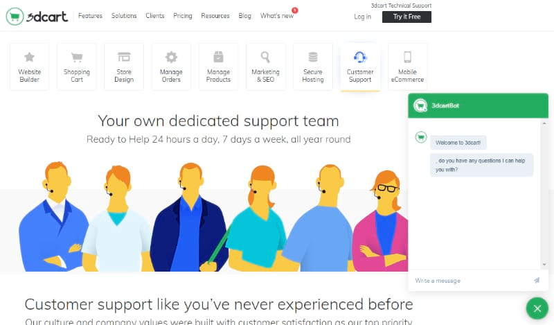 3dcart customer support