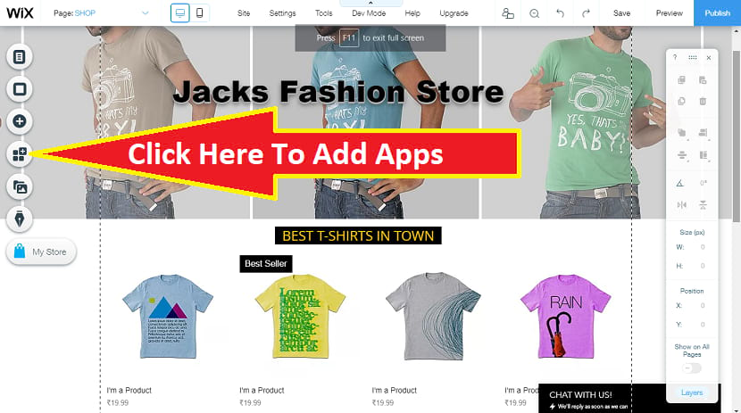Click add apps to integrate drop shipping for your online store ecommerce website