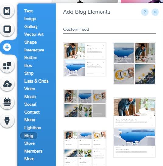 Create photography blogs