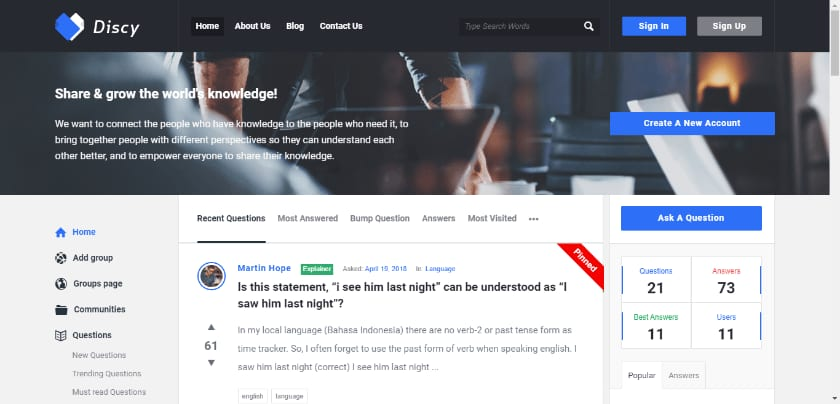 10 Best Q&A Software For Community Discussion Website