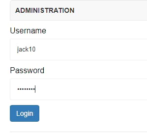 Login to your social network website