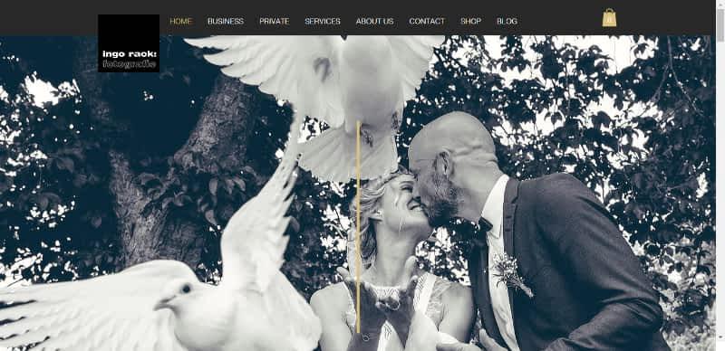 Photographer Ingo Rack website best page