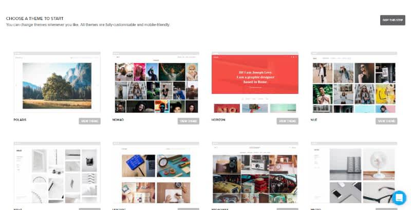 Pixpa templates