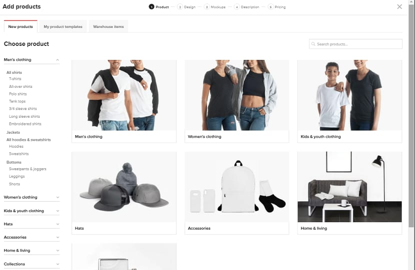 Select any item you want to sell on your online store