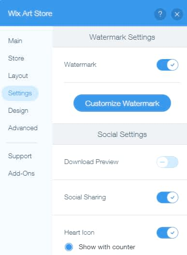 Watermark protection for your photos
