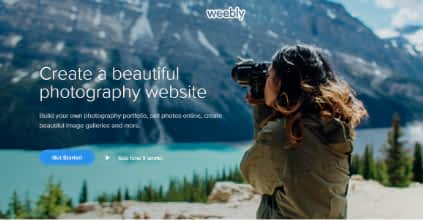 Weebly photography