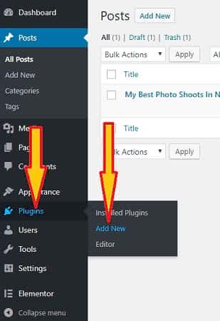 add photography plugins
