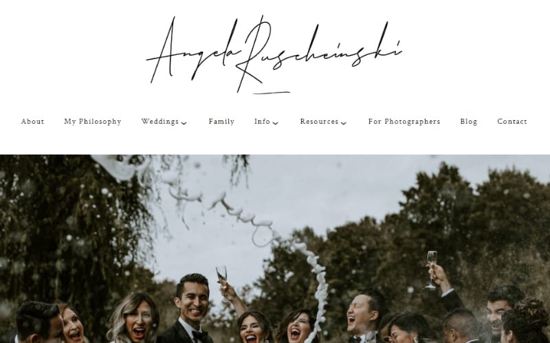 best photography website used squarespace