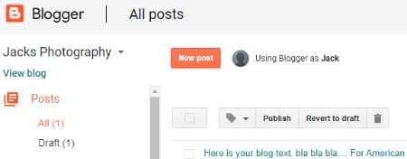 blogger post navigation ease of use