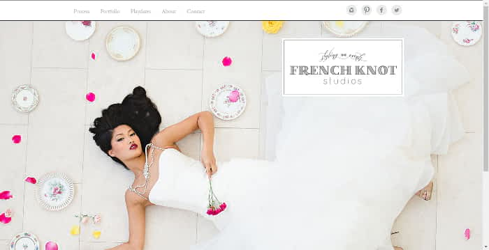 french knot studio website