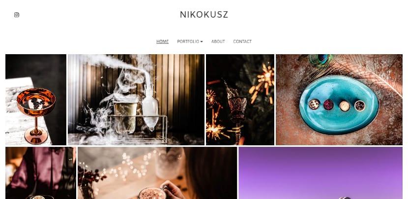 photography website nikokusz